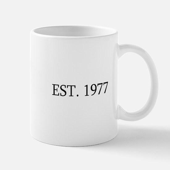 Est 1977 Mugs