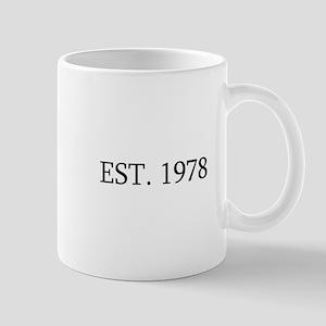 Est 1978 Mugs