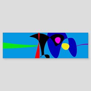 Abstract Expressionism Simple Digital Art Bumper S