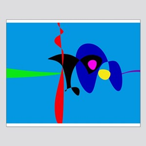 Abstract Expressionism Simple Digital Art Posters