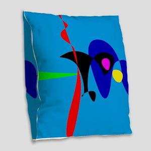 Abstract Expressionism Simple Digital Art Burlap T