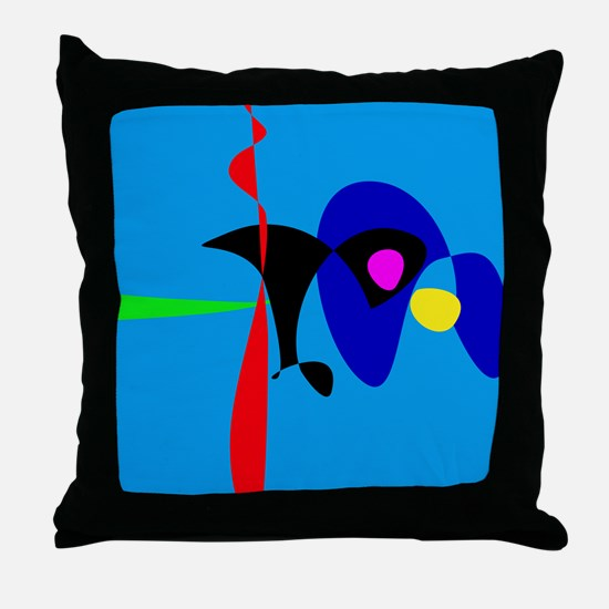Abstract Expressionism Simple Digital Art Throw Pi
