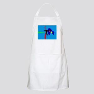 Abstract Expressionism Simple Digital Art Apron