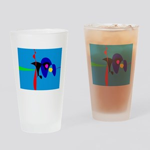 Abstract Expressionism Simple Digital Art Drinking