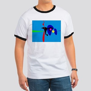Abstract Expressionism Simple Digital Art T-Shirt