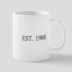 Est 1988 Mugs