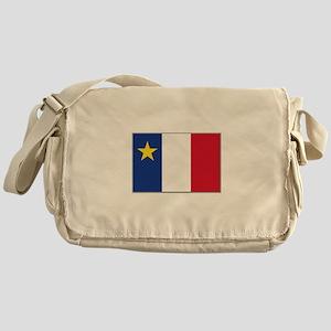 Flag of Acadia Messenger Bag