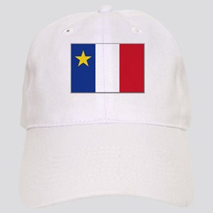 Flag of Acadia Cap