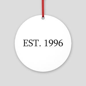 Est 1996 Ornament (Round)