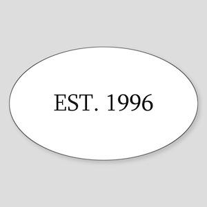 Est 1996 Sticker