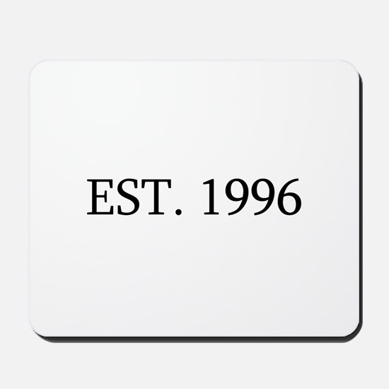Est 1996 Mousepad
