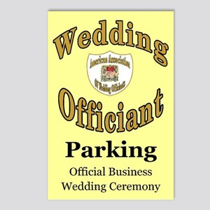 American Assn Wedding Officiants Postcards (Packag