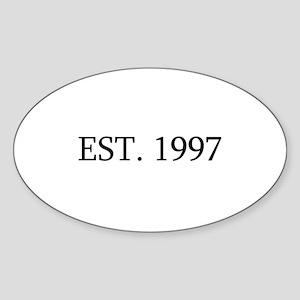 Est 1997 Sticker