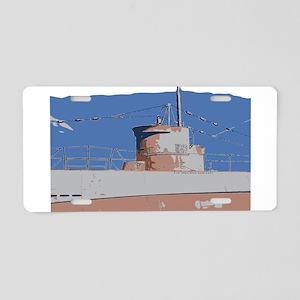 Sub Aluminum License Plate
