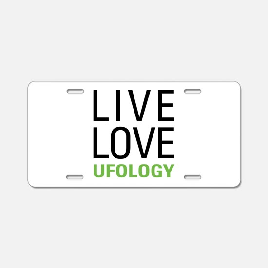 Ufology Aluminum License Plate