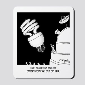 Astronomy Cartoon 9209 Mousepad
