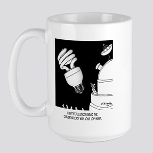 Astronomy Cartoon 9209 Large Mug