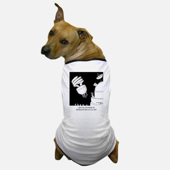 Astronomy Cartoon 9209 Dog T-Shirt