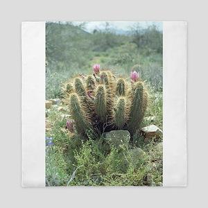 Desert Blooms Queen Duvet