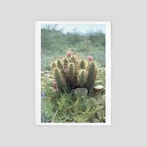 Desert Blooms 5'x7'Area Rug