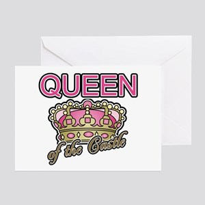 Queen of the Castle Crown Mother Greeting Cards (P