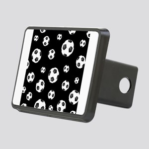 Soccer ball Pattern Rectangular Hitch Cover