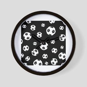 Soccer ball Pattern Wall Clock