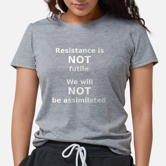 Resistance is not futile (white) T-Shirt