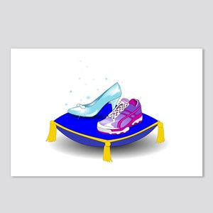 Princess Running Shoes Postcards (Package of 8)