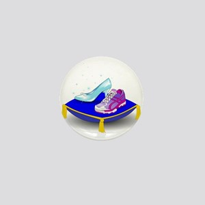 Princess Running Shoes Mini Button