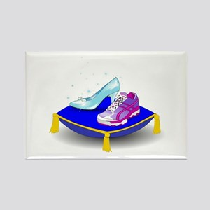 Princess Running Shoes Magnets