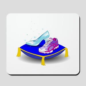 Princess Running Shoes Mousepad