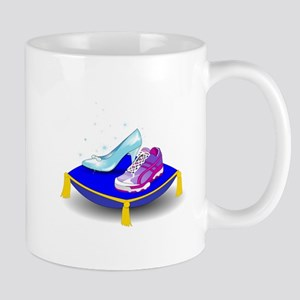 Princess Running Shoes Mugs