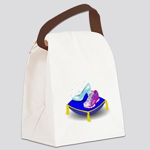 Princess Running Shoes Canvas Lunch Bag
