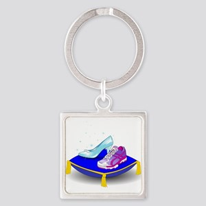 Princess Running Shoes Keychains