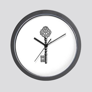 Vintage Key Wall Clock