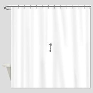 Vintage Key Shower Curtain