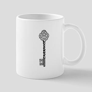 Vintage Key Mugs