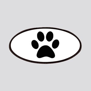 Black Paw print Patches