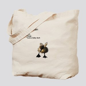 Love a baby duck Tote Bag