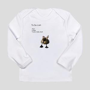Love a baby duck Long Sleeve T-Shirt