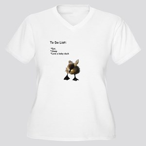 Love A Baby Duck Plus Size T-Shirt