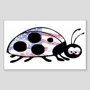 Lady Liberty Bug Sticker