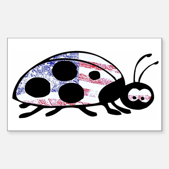 Lady Liberty Bug Decal