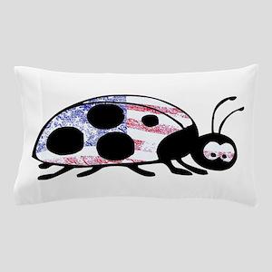 Lady Liberty Bug Pillow Case