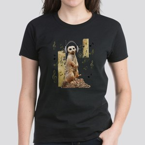 Jamming Meerkat T-Shirt
