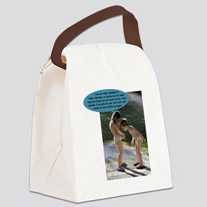 Ive got Shiva in my panties Canvas Lunch Bag