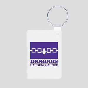 Iroquois Flag Keychains