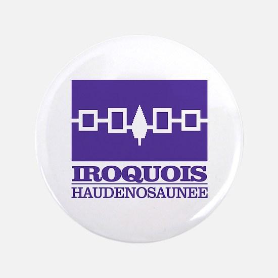 "Iroquois Flag 3.5"" Button"