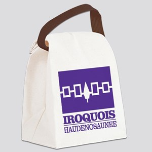 Iroquois Flag Canvas Lunch Bag